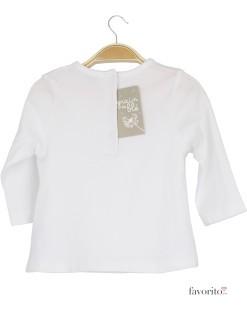 Bluza bebe, alb, fundita din strasuri, Grain de blé2