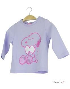 Bluza bebe, lila, Snoopy1