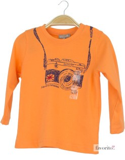 Bluza bebe portocalie, aparat foto, Grain de blé1