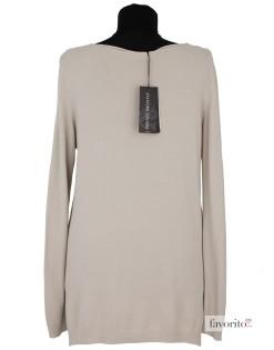 Bluza dama casual, beige, crini, Rinascimento2