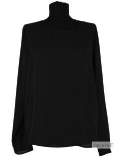 Bluza dama eleganta, voal negru, EDUCE1