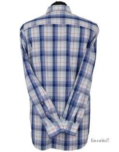 Camasa maneca lunga barbati, carouri, State of Art-alb-verde-albastru2
