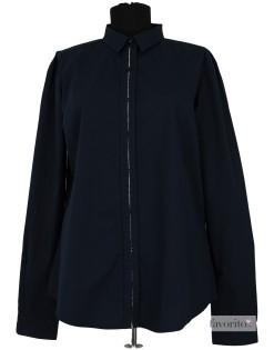Camasa maneca lunga dama, casual-elegant, GAS-bleumarin1