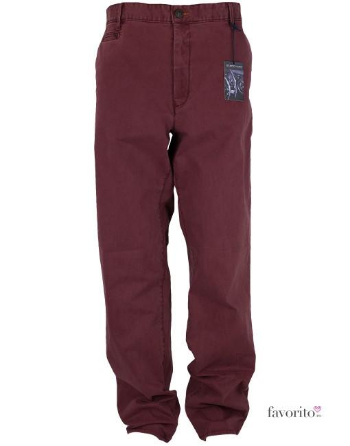 Pantaloni lungi barbati State of Art (confort fit)-visiniu-1
