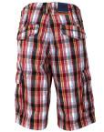 Pantaloni-scurti-casual-barbati,-carouri-multicolore,-State-of-Art2