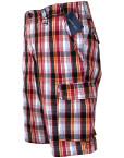 Pantaloni-scurti-casual-barbati,-carouri-multicolore,-State-of-Art3