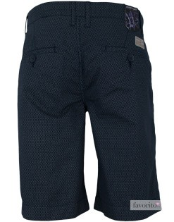 Pantaloni scurti casual barbati, gri inchis, imprimeu, State of Art2