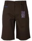 Pantaloni-scurti-casual-barbati,-maro,-State-of-Art-maro1