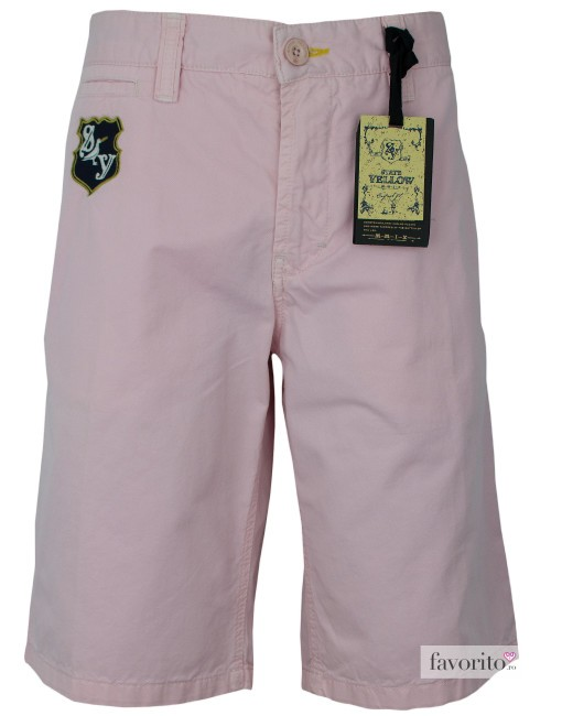 Pantaloni scurti casual, roz, barbati State of Art1