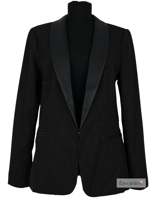 Sacou dama casual, negru, DEPT1