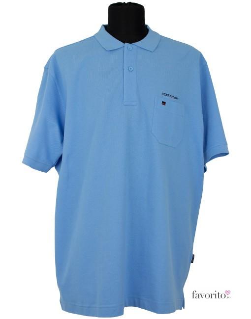 Tricou POLO barbati, albastru deschis,  State of Art1
