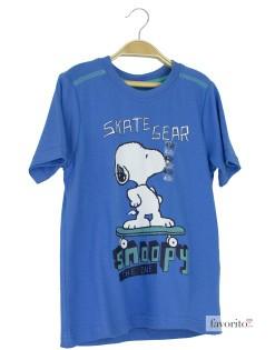 Tricou baieti, albastru, Snoopy1