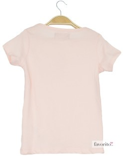 Tricou fete, roz, LISA ROSE2