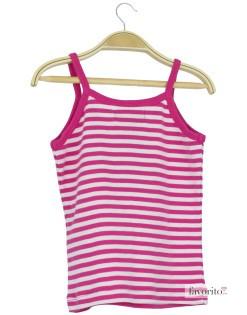 Tricou top fete, dungi roz, LISA ROSE2