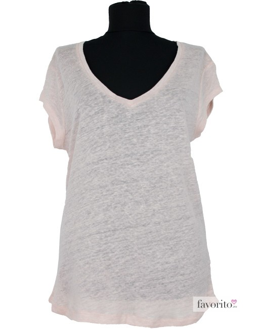 tricou-dama-roz-massimo-dutti
