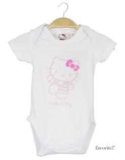 Body bebe, alb, Hello Kitty1