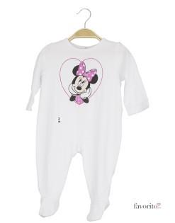Body bebe de bumbac pe intreg corpul, Minnie Mouse, Disney1