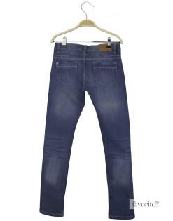 Jeansi pentru fete, contur argintiu, Denim by LISA ROSE2