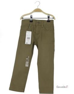 Pantaloni lungi baieti, kaki,  YCC Bazic1