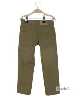 Pantaloni lungi baieti, kaki,  YCC Bazic2