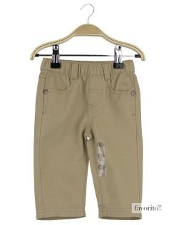 Pantaloni lungi bebe, Chatou, Grain de blé-beige1