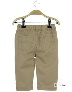 Pantaloni lungi bebe, Chatou, Grain de blé-beige2