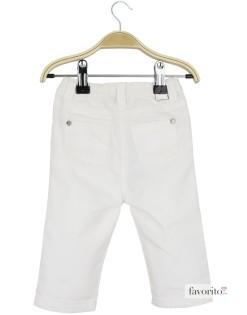 Pantaloni lungi bebe, fete, Bow, Grain de blé-alb2