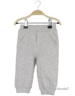 Pantaloni lungi bebe, trening, Grain de blé1