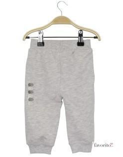 Pantaloni lungi bebe, trening, Grain de blé2