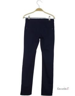 Pantaloni lungi pentru fete, slim, LISA ROSE-bleumarin2