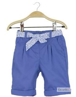 Pantaloni scurti bebe, fetite, snur cu floricele,  Grain de blé1