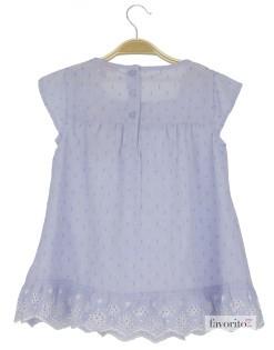 Rochie de zi pentru fete, vaporoasa, brodata, LISA ROSE2