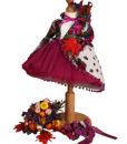 Compleu Rochita Maria de ocazie, include 4 piese (0-3-0-6 luni)-mov2