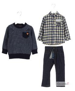 outfit-losan-ycc-baieti-2-7-ani-pulover-logo-piele-camasa-carouri-cu-galben-si-jeansi-ycc