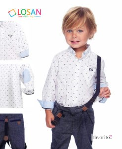 outfit-losan-baby-boy-6-24-luni-oxfort-camasa-cu-picatele-si-pantaloni-cu-bretele