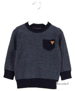 pulover-tricotat-pentru-baieti-buzunar-la-piept-future-bleumarin-copii-2-7-ani-losan