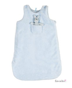 sac-de-dormit-nou-nascuti-polar-fermoar-albastru-deschis-losan