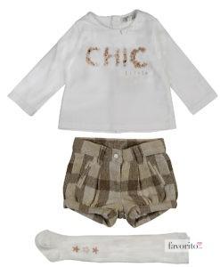 compleu-chic-pants-3-piese-fetite-pantaloni-scurti-bluza-ciorapi-grosi-6-24-luni-losan-1