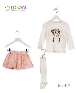 compleu-leopard-chic-skirt-fete-3-piese-fusta-bluza-ciorapei-bej-2-7-ani-losan-4