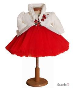 rochita-eleganta-cherry-3-piese-turban-si-bolero-matlasat-tul-bogat-rosu-2-3ani-1