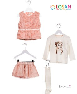 outfit-losan-2-7-ani-fetite-vesta-blanita-roz-somon-compleu-cu-fustita-tul-roz