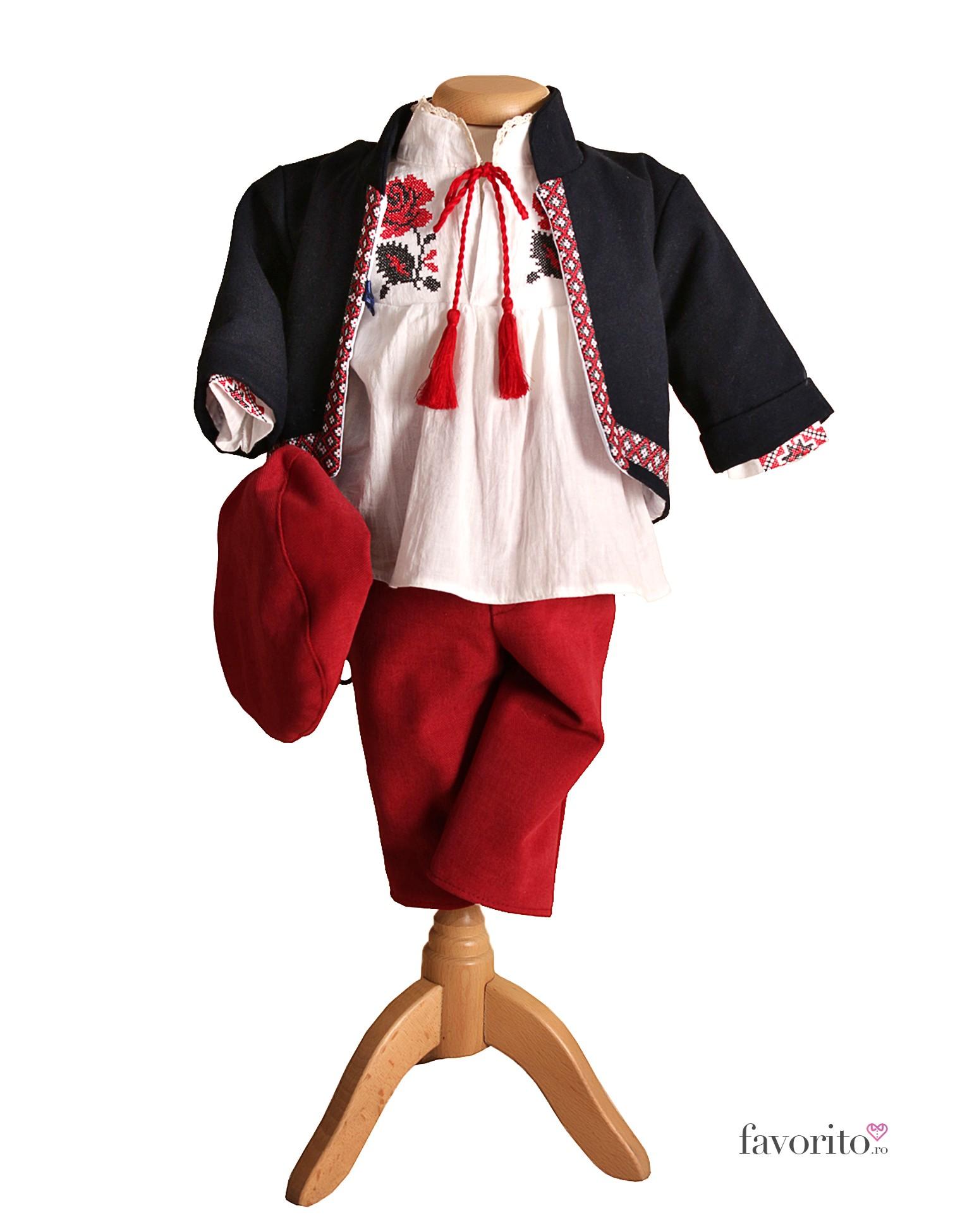 Costum Brodat Catalin Pentru Botez Cu Ie 0 3 3 6 Luni Favorito