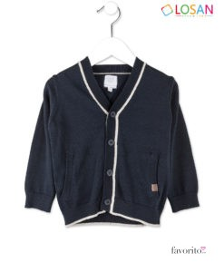Jerseu NAVY CHIC din tricot pentru baietei, LOSAN (2-7 ani)-1