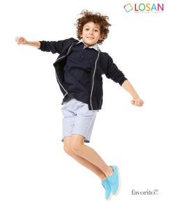 Jerseu NAVY CHIC din tricot pentru baieti, LOSAN (8-16 ani)-1