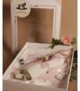 Trusou roz pentru botez, set cu 7 piese-2