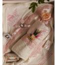 Trusou roz pentru botez, set cu 7 piese-4
