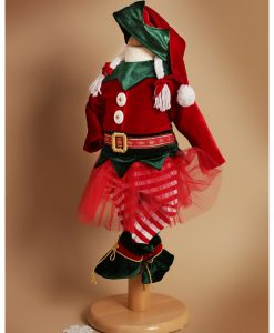 Costumas Micuta Spirudusa Elfina (0-3- 3-6 luni)-2