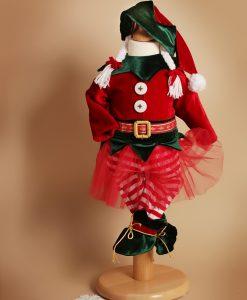 Costumas Micuta Spirudusa Elfina (0-3- 3-6 luni)-3