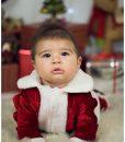 Costumas Micutul Mos Craciun (0-3- 3-6 luni)-1