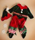 Costumas Micutul Spirudus Elfi (0-3- 3-6 luni)-1